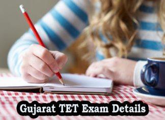 Gujarat TET Exam Details