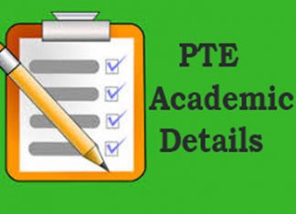 PTE Academic Details