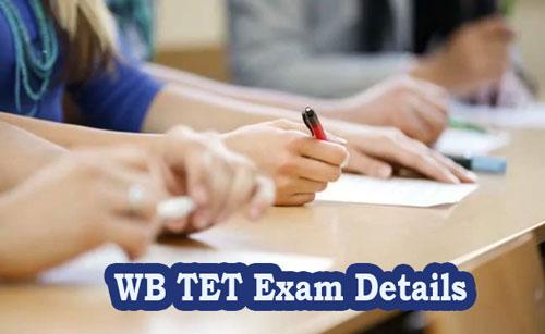 WB TET Exam Details