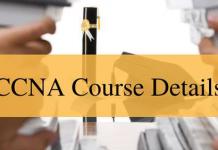CCNA Course Details
