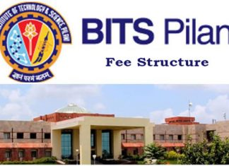 BITS Pilani Fee Structure