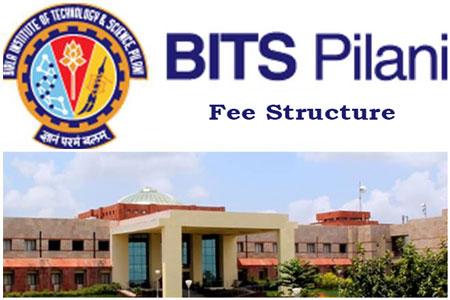 BITSPilani Fee Structure