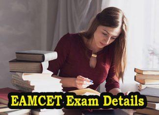EAMCET Exam Details