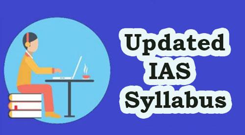 IAS Syllabus