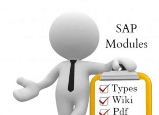 SAP-Modules List