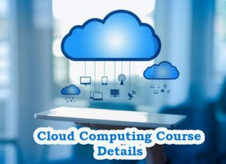Cloud Computing Course Details