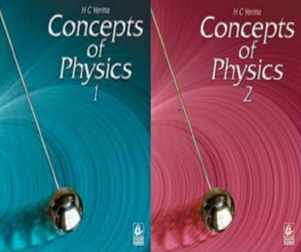 HC Verma Physics Pdf Free Ebook (Vol 1 & 2)