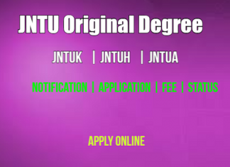 JNTU OD Application Details