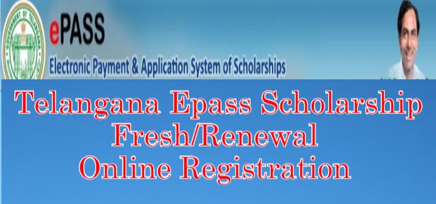 Telangana ePASS Renewal