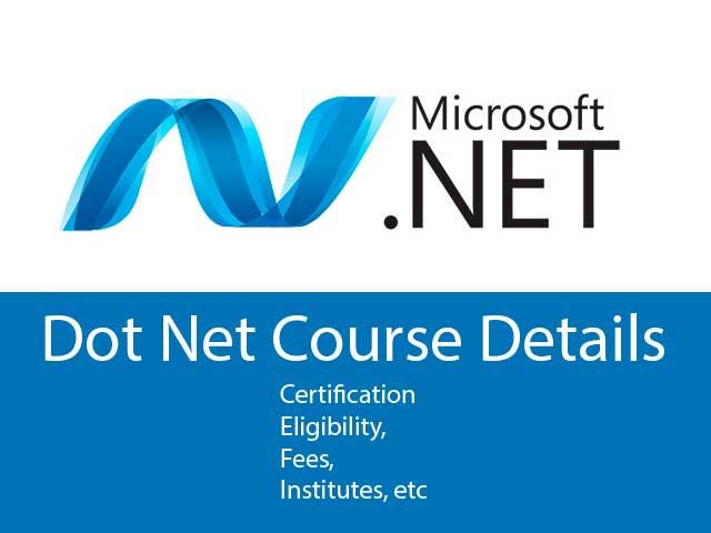 .net course details
