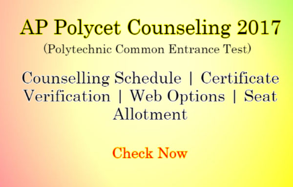 AP-POLYCET-Counselling
