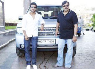 Chiranjeevi's Range Rover Vogue