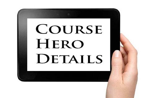 Course Hero Details
