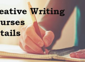 Creative Writing Courses Details