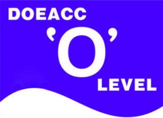 Doeacc Courses Details