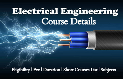 Electrical-Engineering-Course-Details