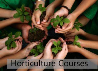 Horticulture Courses Details