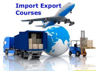 Import-Export-Courses-Details