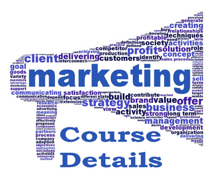 Marketing Courses Details