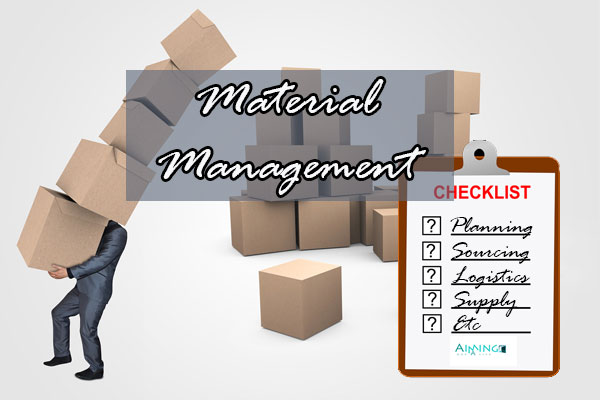 material management Materials management is a profession that involves management of supply chain processes here, you'll find more information about materials.