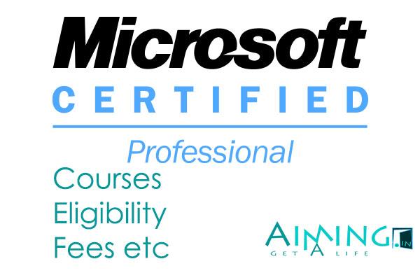 microsoft certification courses list pdf