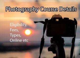 Photography Course Details