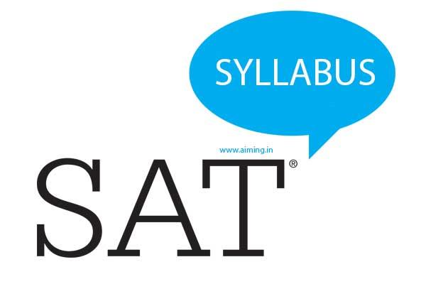 Sat Syllabus