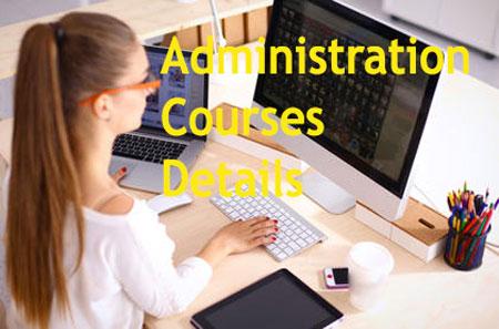 Administration Courses Details