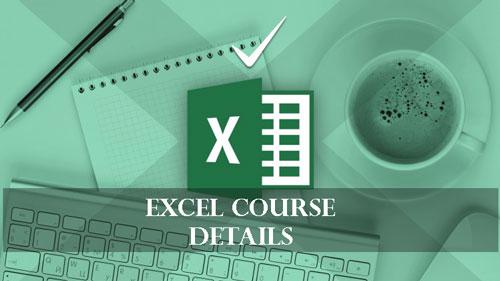 Excel-Course-Details