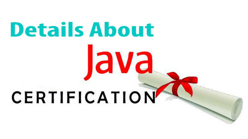 JAVA Certification Details