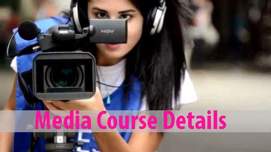 Media Courses Details