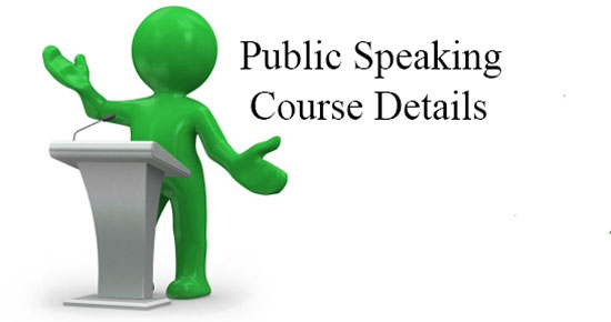 Public Speaking Course Details