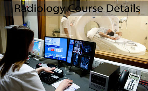 Radiology Course Details