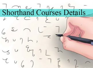 Shorthand Courses Details