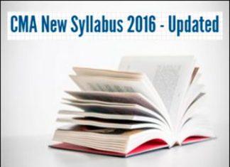 CMA-Syllabus