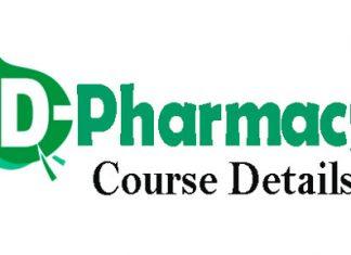 D Pharm Course Details