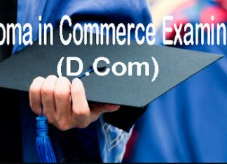 Diploma in Commerce Examination