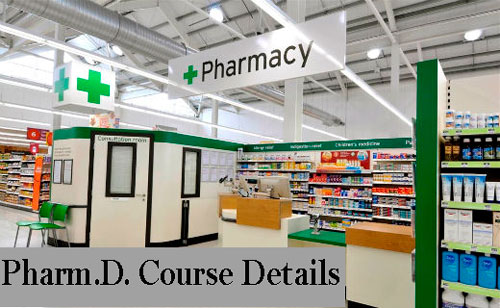 Doctor of Pharmacy Course Details
