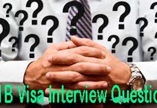 H1B Visa Interview Questions