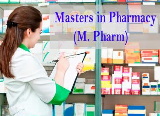 Masters in Pharmacy Course Details
