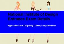 NID Entrance Exam Details