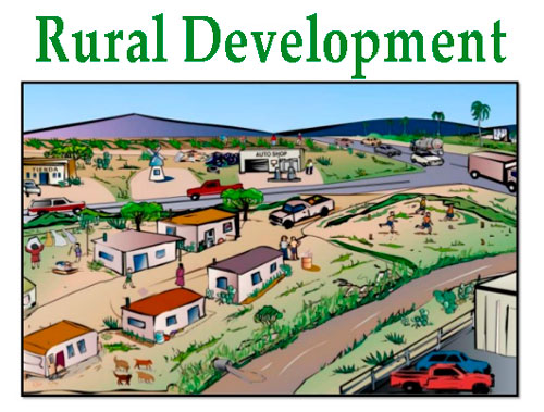 the state of development of rural The current level of development in the rural areas of the state can be viewed from a variety of indicators the present secti on considers some of them such as food grain producti on.
