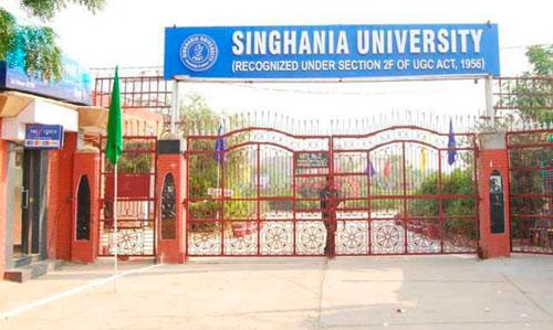 Singhania University Profile