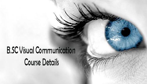 BSC Visual Communication Course Details