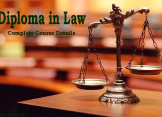 Diploma in Law Course Details