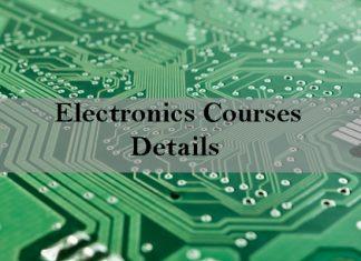 Electronics Courses Details