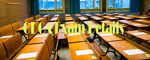 GDCA Exam Details