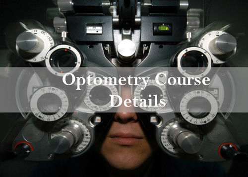 Optometry Course Details