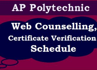 AP Polytechnic Counselling