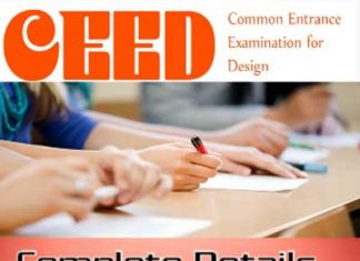 About CEED Exam